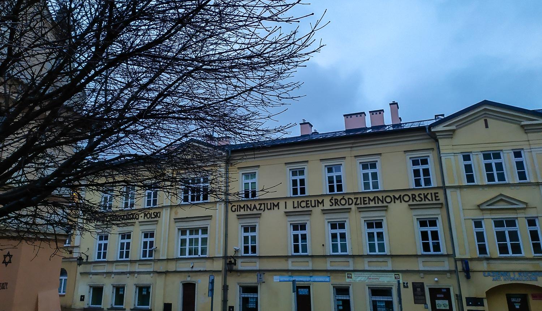 Испано-польский институт, школа и Средиземноморский музей в одном здании