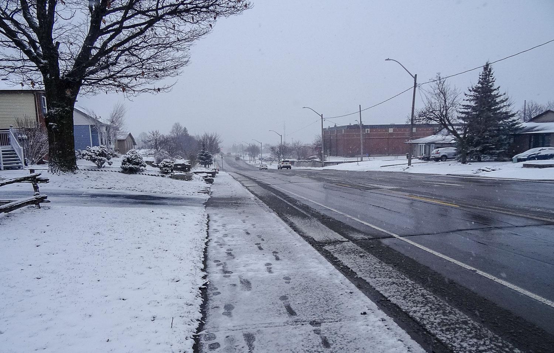 Настоящая канадская зима!