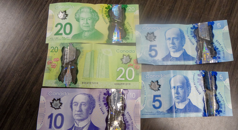 Канадские купюры