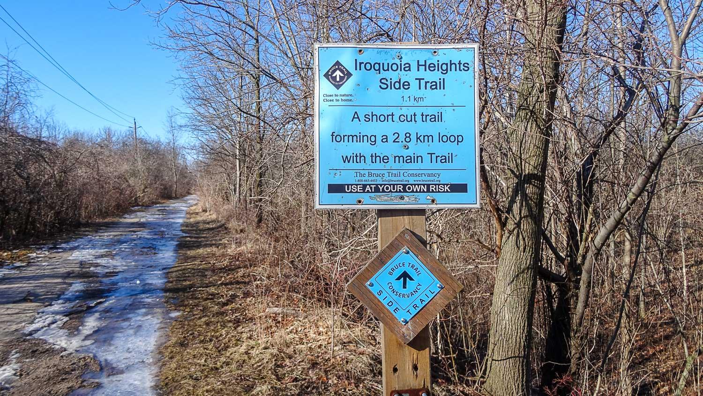 Scenic Iroquia Walk