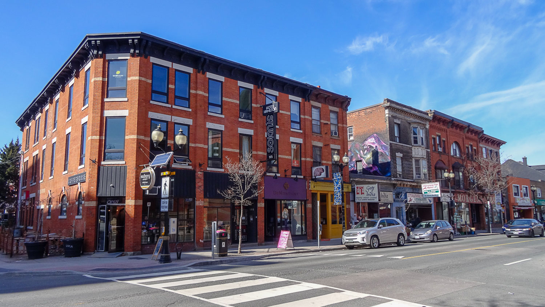 Типичная улица Гамильтона