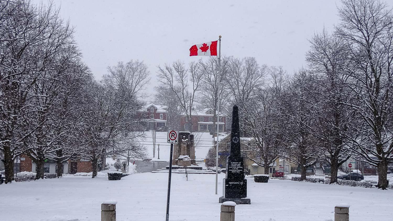 Памятник погибшим при несении службы в канадских войсках