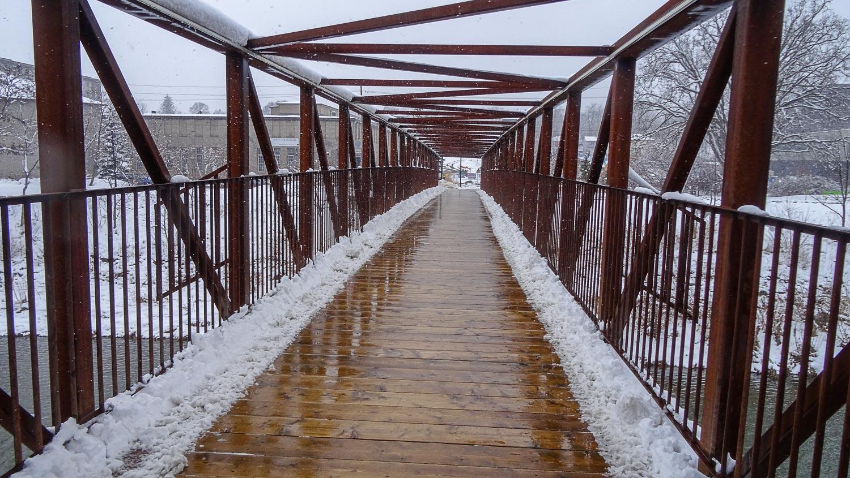 Мост через реку Гранд-Ривер