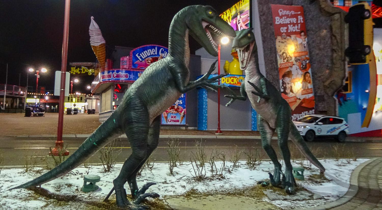 Но можно посмотреть на динозавров