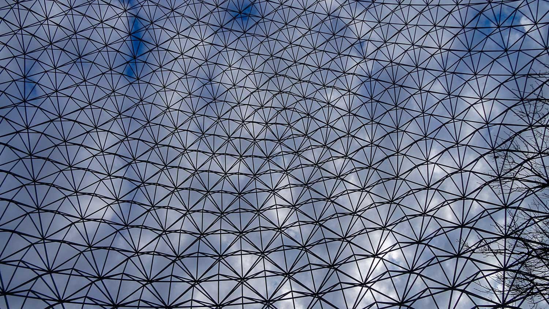 Вид на купол изнутри