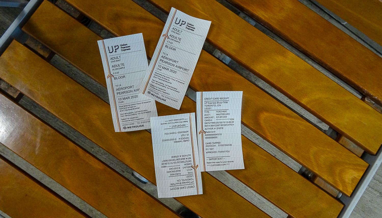 Билеты и чеки