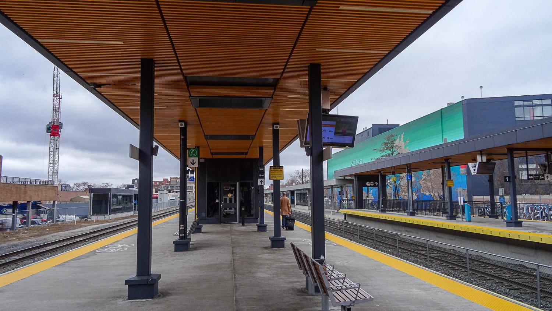 Станция поезда UP