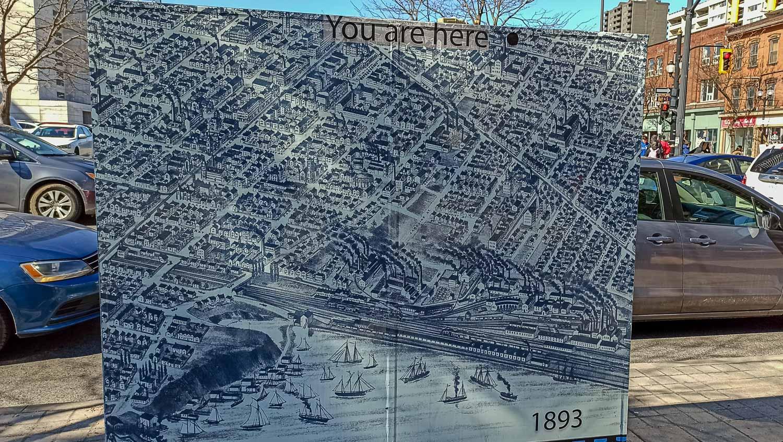 Старая карта Гамильтона