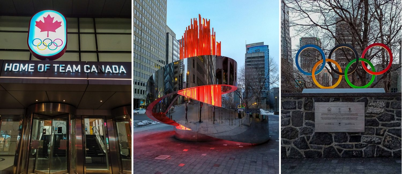 В Монреале проходили Летние Олимпийские игры