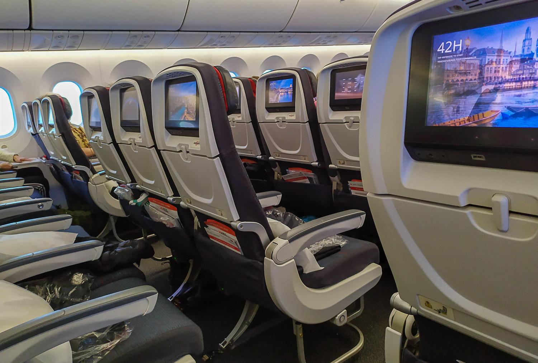 Самолет Air Canada