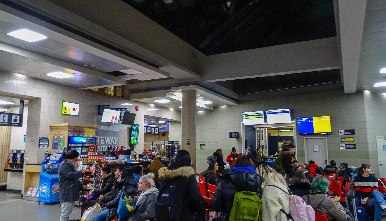 Автобусный вокзал в Торонто