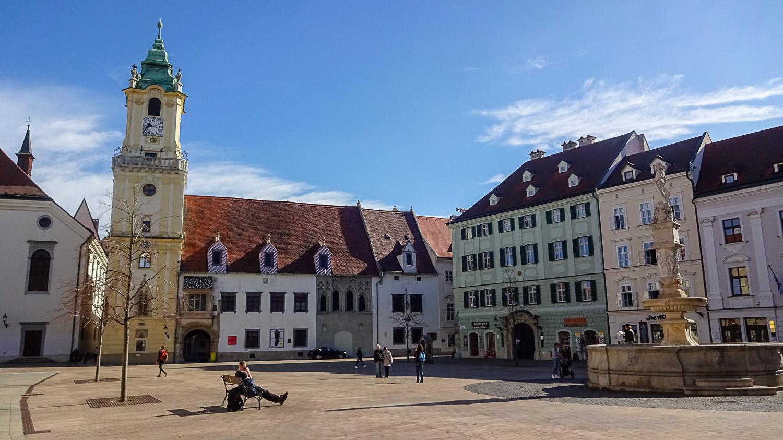 Центральная площадь в Старом городе