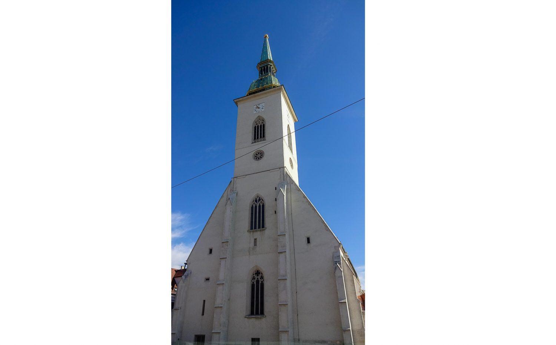 Фасад Кафедрального собора Святого Мартина