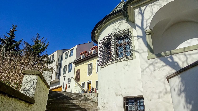 Подъем к Братиславскому граду