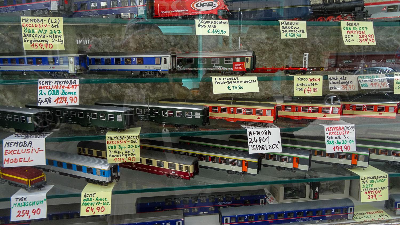 Макеты поездов
