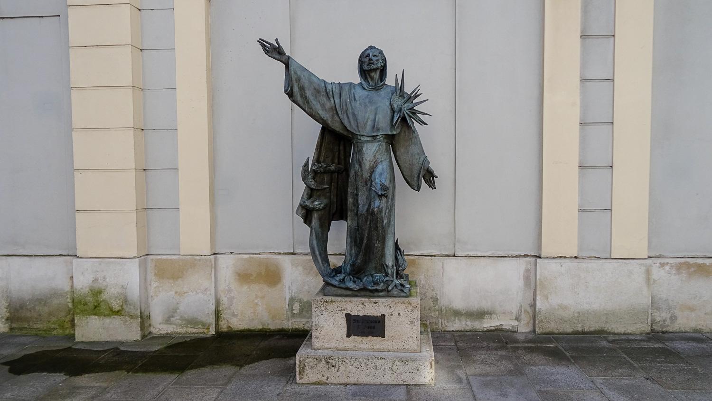 Статуя Святого Франциска Ассизского