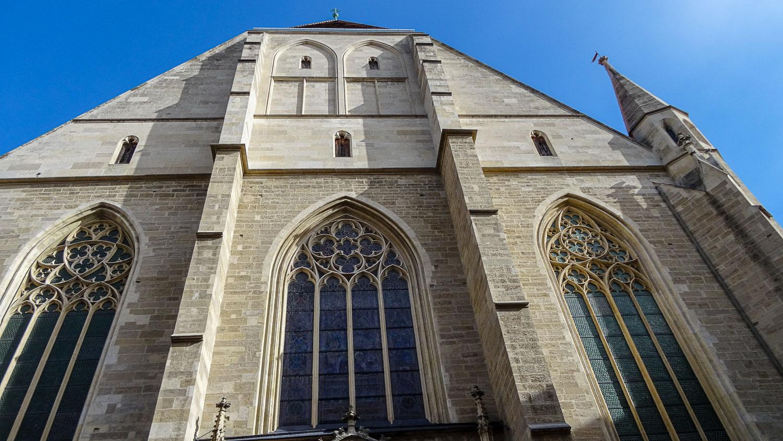 Minoritenkirche с другого ракурса