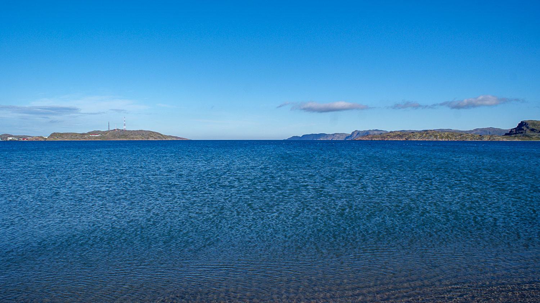 Очень насыщенный цвет воды