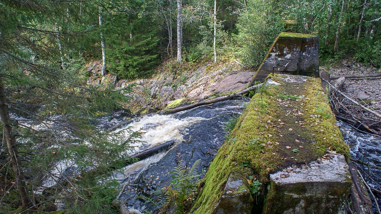 """В прошлом веке финны построили здесь ГЭС """"Прокинкоски"""""""