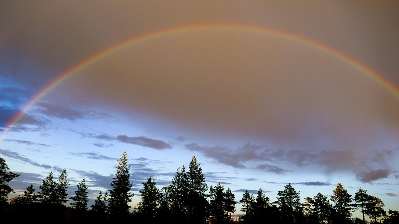 Огромная радуга