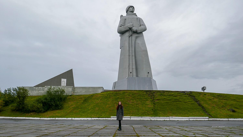 Высота статуи - 35,5 метра