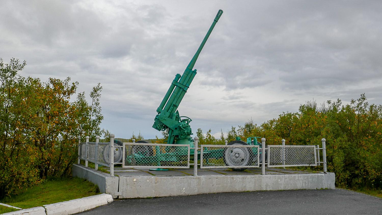 Памятник воинам-зенитчикам