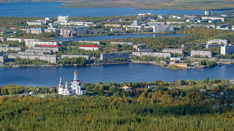 Вид на Мончегорск