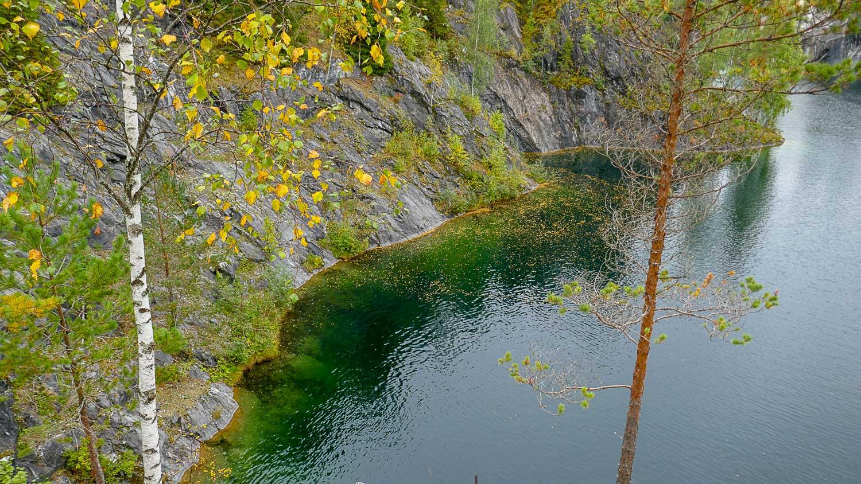 Цвет воды очень красивый!