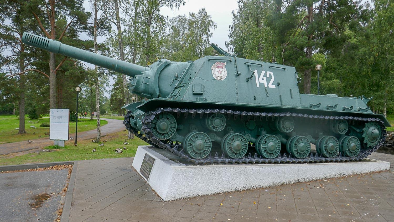 Самоходное орудие ИСУ-152