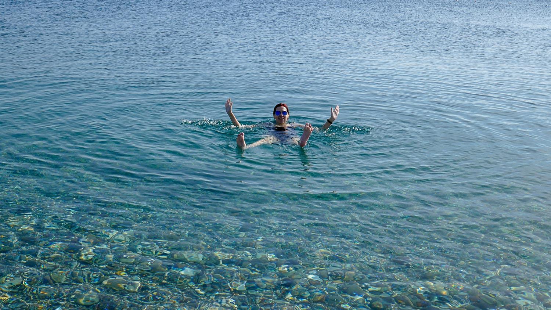 Сложно поверить, но я с удовольствием купалась в ноябре!