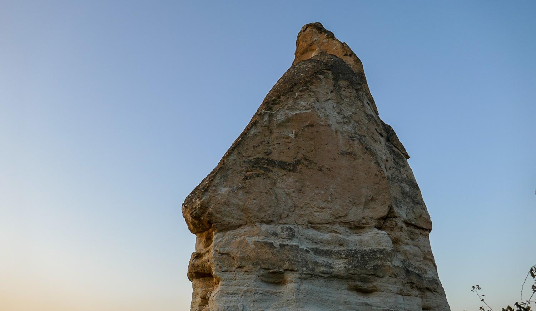 Верхушка одной из пещер