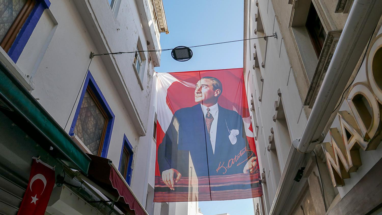 Портрет Ататюрка