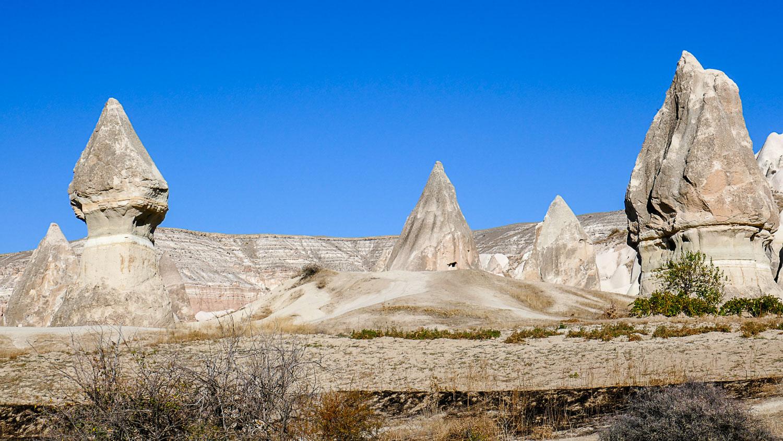 Долина Мечей (Сабель) в Каппадокии