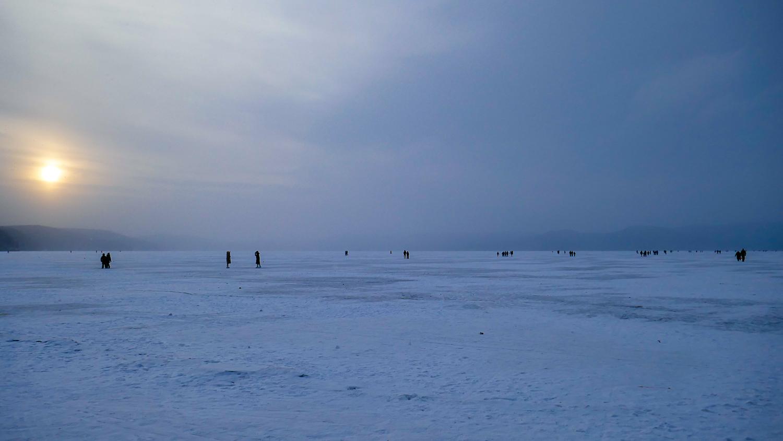 И на озере