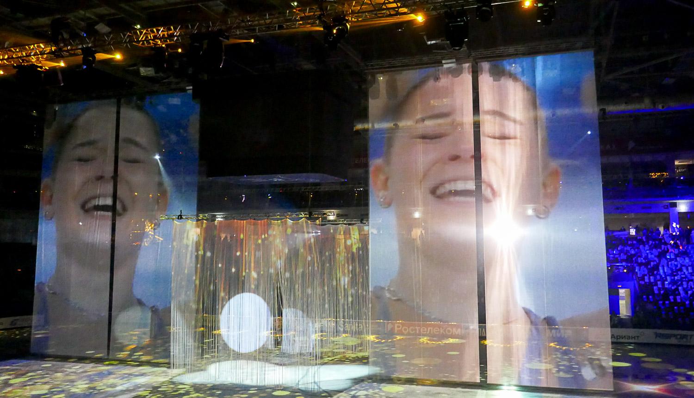 Аделина Сотникова - победный момент сочинской Олимпиады