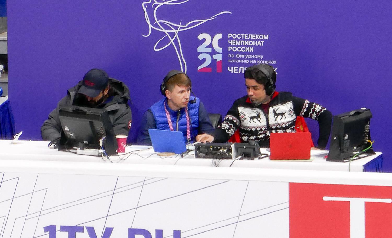 Илья Авербух, Алексей Ягудин, Александр Гришин