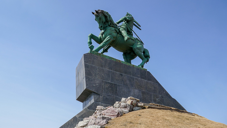 Монумент Салавату Юлаеву - визитная карточка Уфы