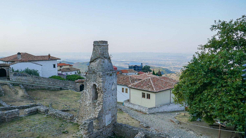 Остатки старой крепости