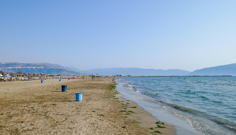 Пляж во Влёре