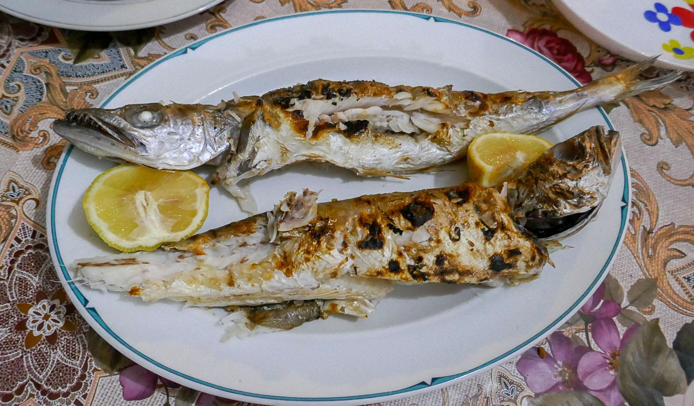 Вот такую рыбу нам приготовили