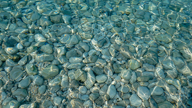 Солнечные лучики бегают по воде